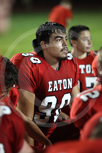 Eaton Varsity Football vs The Academy Friday August 23, 2013
