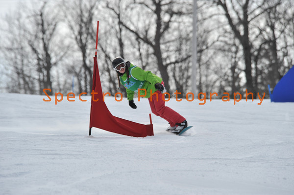 OFSAA Snow Boarding 2011 Women's 2nd Run