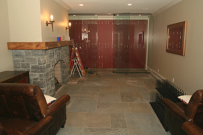 Wine Room Renovation