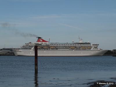 27 May 13 BALMORAL & ORIANA Depart Southampton