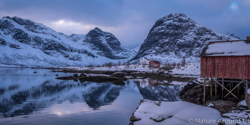 A Fishing village at Lofoten islands