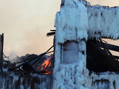Chicago Bridgeport Building                 Fire and Ice