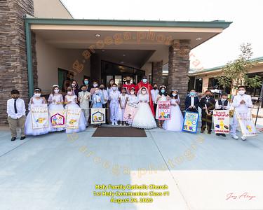 2020-08-29 HF 1st Holy Communion 10AM Group