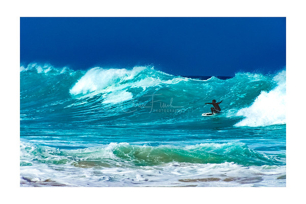 Kua Bay Wave Riding, Hawaii