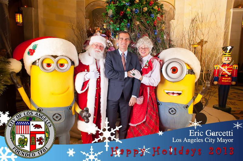 Xmas Photos with the Mayor 2013