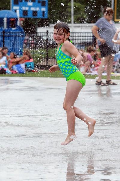 New Splash Park in Leominster