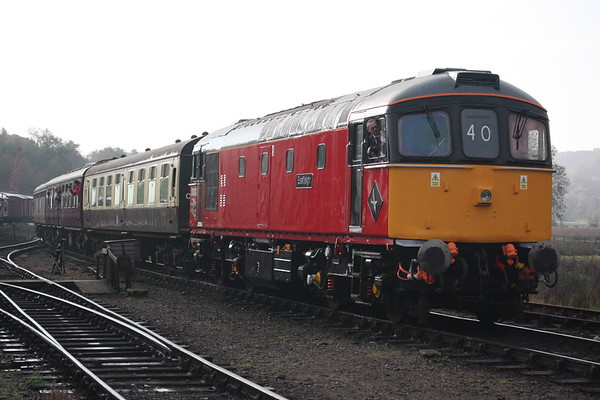 33021 - Churnet Valley Railway, 19th October 2018