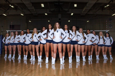 2018 HIU Women's Volleyball