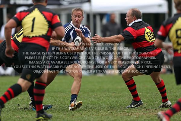 2017 Over 45's Division Virginia Cardinals Rugby Men Aspen Ruggerfest 50