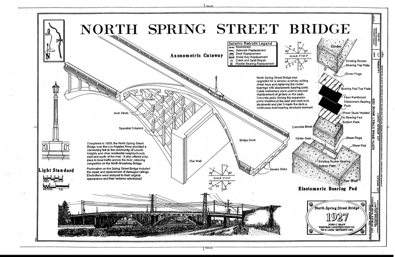 2000, North Spring Street Bridge Diagram