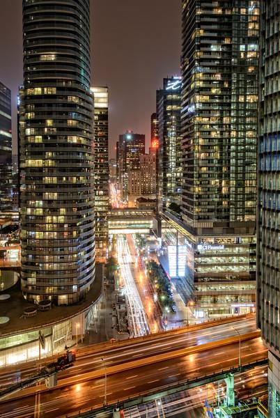A Rainy Night in Toronto