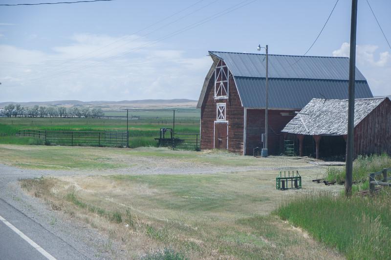 Southern Montana Barn