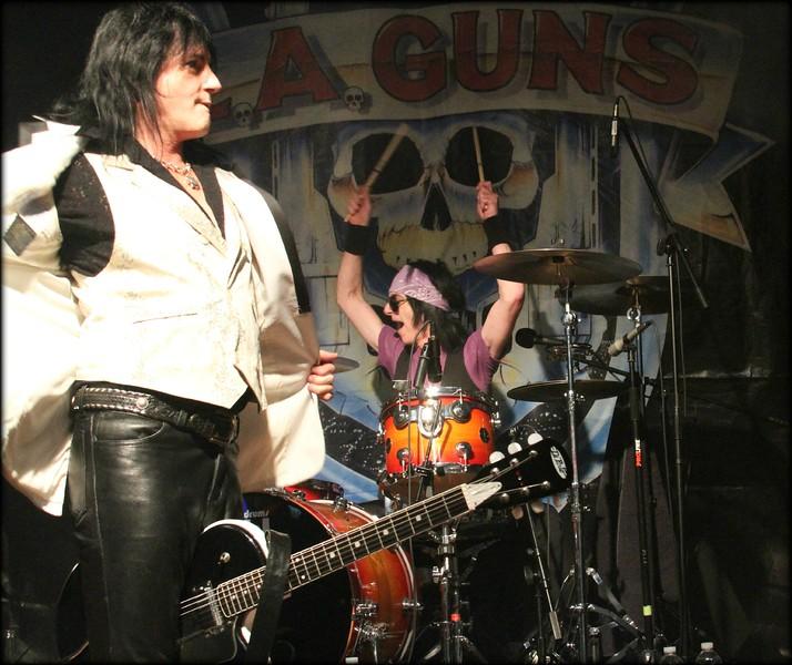 L.A. Guns @ Marquee 15 on 12-22-12