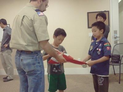 Cub Scouts Den 7, 2012-2013