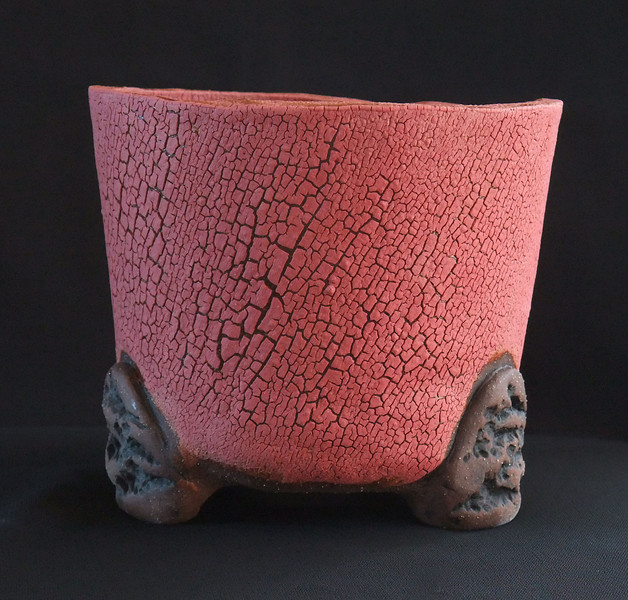 """#1042 4 1/2"""" round, 4"""" deep, 4 1/2"""" tall  ***SOLD***"""
