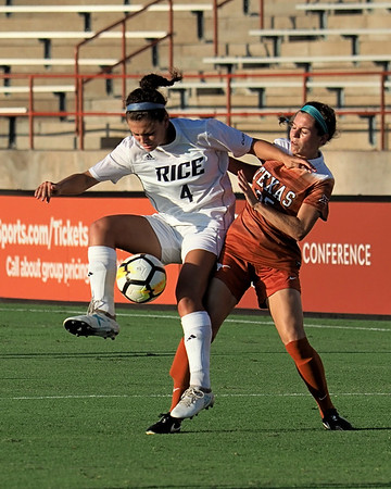 University of Texas Soccer vs. Rice 8.18.2017