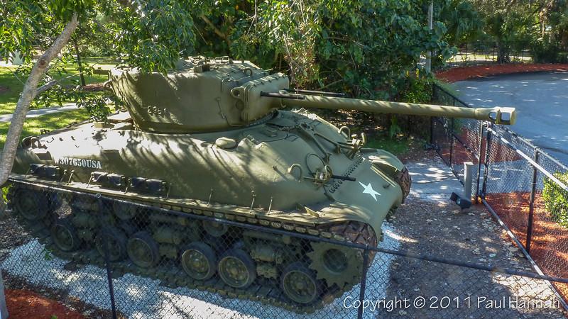 Collier County Museum - Naples, FL - M4A1(76) HVSS