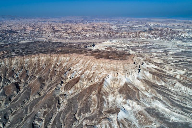 Above the Judaean Desert
