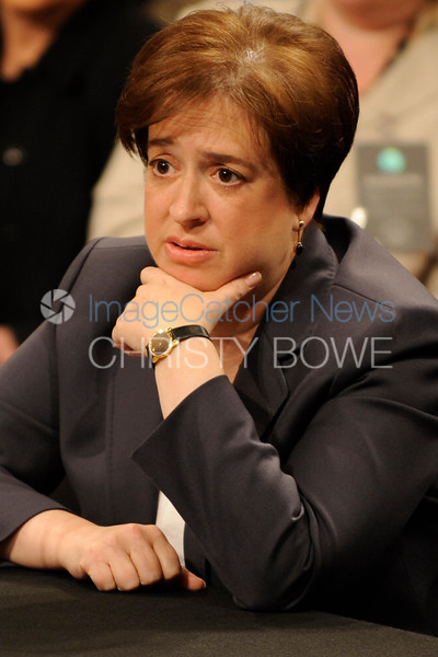 U.S. Solicitor General Elena Kagan begins her second day of the confirmation hearing process that will determine if she becomes the next Supreme Court Justice .