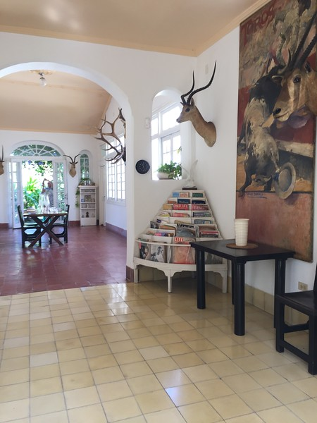 Living room at Finca Vigía - Kristin Cass