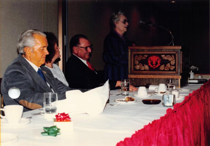 Ruben's retirement party from CAPC, Jan 1987
