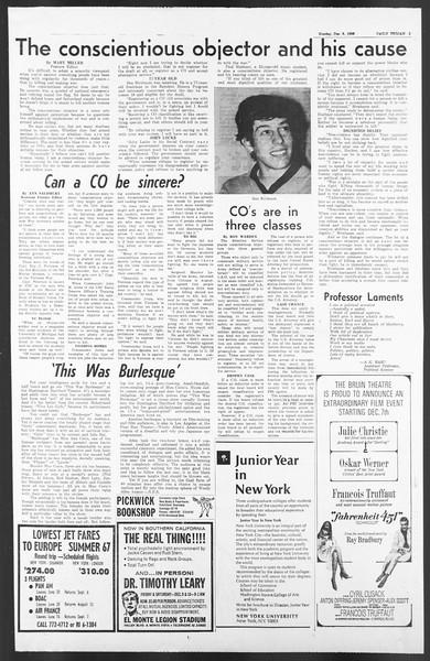 Daily Trojan, Vol. 58, No. 51, December 05, 1966