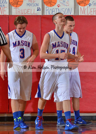 Boys Varsity basketball - Lakewood at Mason - March 1