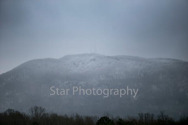 Buffalo Mountain Snow Covered 01-27-14