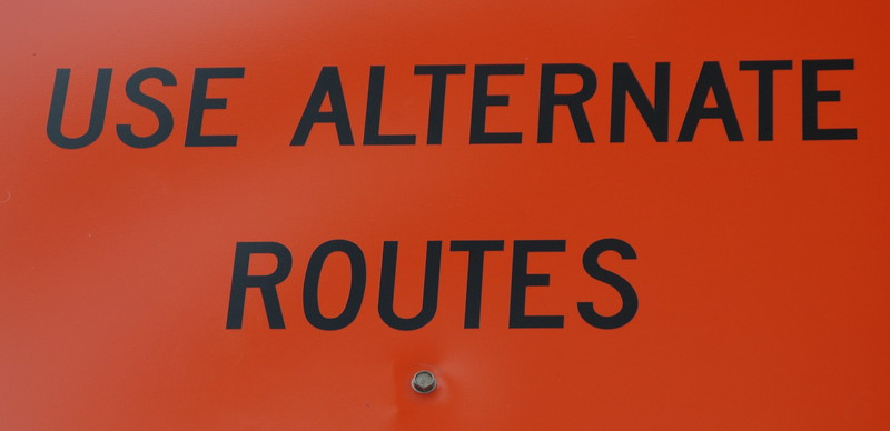 Use alternate routes