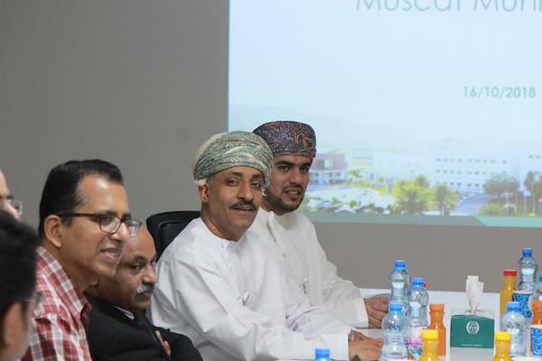 Muscat municipality meeting