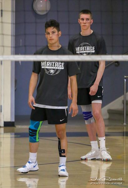 2019 - Heritage High School - Boys Volleyball  - Brendan Quinn