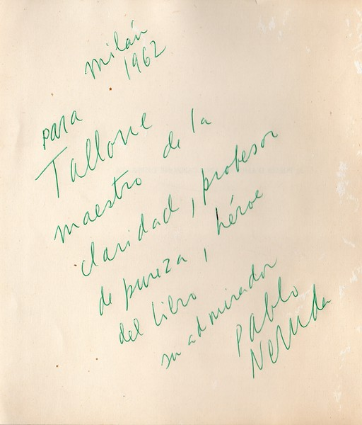 Pablo Neruda, 1962