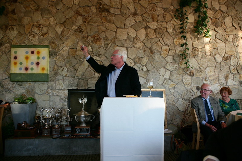 Our evening began with a short auction with Bill Spear as our auctioneer