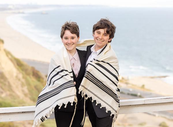 Gemma & Ilan Micro B'Nai Mitzvah - Home Pacific Palisades