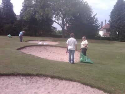 Garden Volunteering in Hollycroft park 6th June 2011