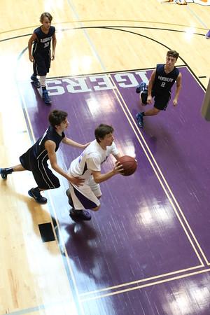 JV Boys Basketball game Nov 2014