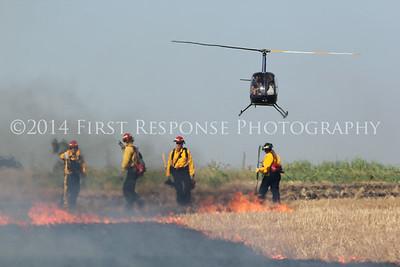 Josephine, TX. Controlled burn