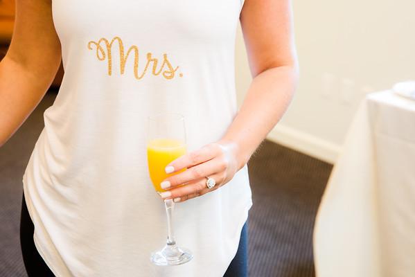 Pre-ceremony: Bride