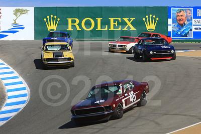 2012 RMMR Sat Group 9A Rolex Monterey Motorsport Reunion Race Group 9A