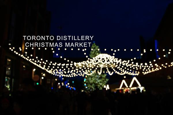Toronto Distillery Christmas Market
