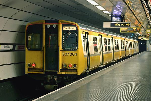 11th December 2004: Merseyrail