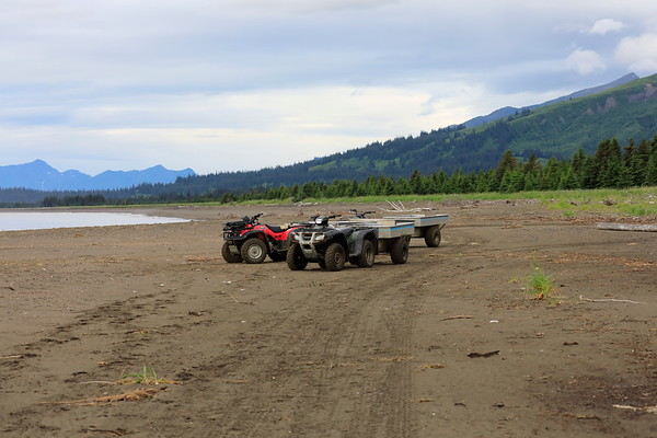 Getting and Being at Silver Salmon Creek Alaska 2012 2017
