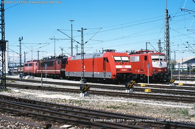 Electric locomotives (Eloks)