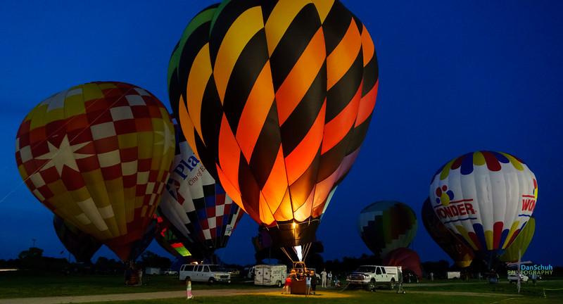 2016 Tulsa International Balloon Festival