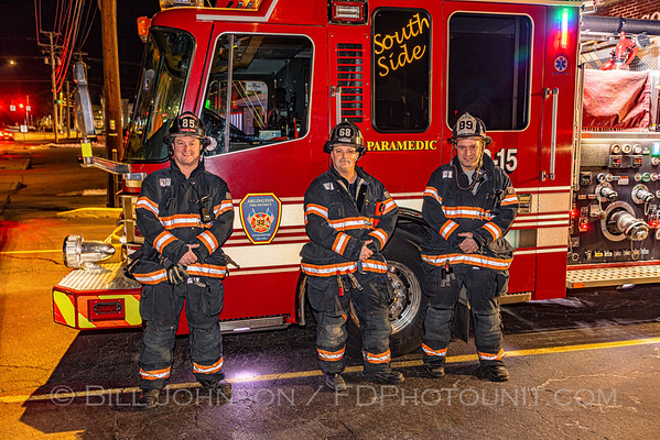 Al Shoessow's last Day on the job with Arlington FD - 01/10/2021