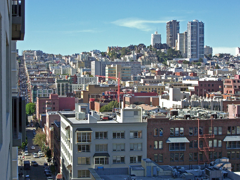 From Jackson St. to Russian Hill