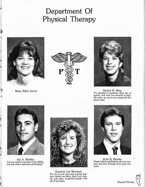 TJU PT Class of 1988