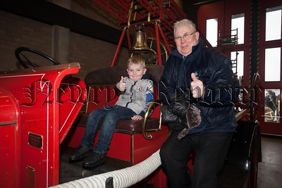 Bertie Flynn with his grandson Conor Flynn. R1606011