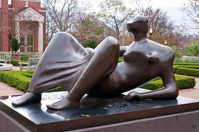 Henry Moore at Botanical Gardens
