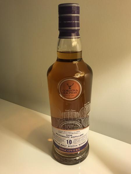 Miltonduff 10YO Gordon and MacPhail Discovery bottling